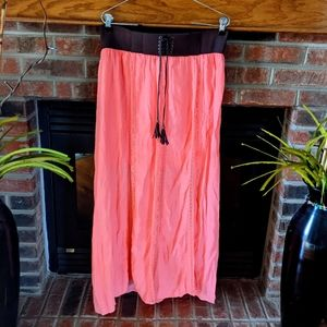 Brand new with tags coral maxi skirt size large